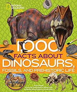 Book Cover: 1,000 Facts About Dinosaurs, Fossils, and Prehistoric Life
