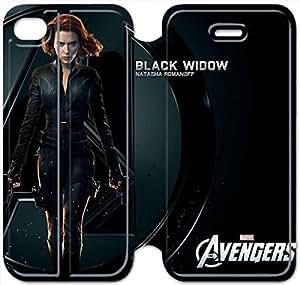 iphone 6 6S 4.7 inch Flip Leather Phone Case Black Widow XZ1UI6412702