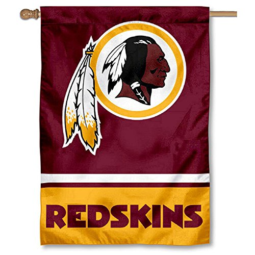 Washington Redskins Two Sided House Flag