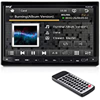 Pyle PLDN74BT 7-Inch Double DIN TFT Motorized Slide-Down Panel Touch Screen