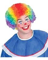 Rainbow Clown Wig - Adult Std.