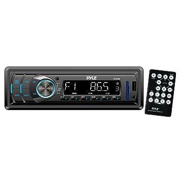 Pyle PLR34M - Reproductor MP3/MP4 para coche (SD, USB, radio AM/FM en el tablero, con pantalla remontable): Amazon.es: Electrónica