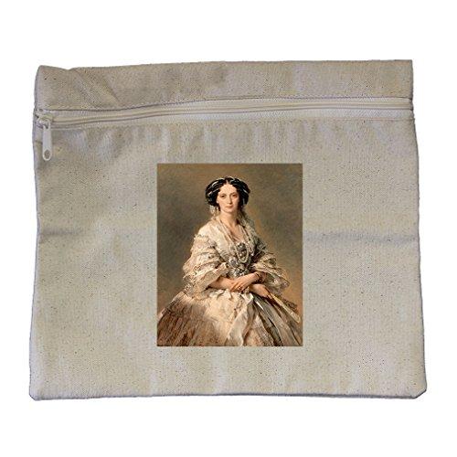 Empress Maria Alexandrovna (Winterhalter) Canvas Zippered Pouch Makeup (Empress Design Print)