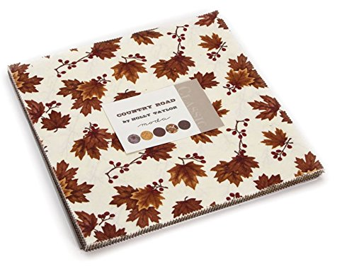 Country Quilt Fabric - Country Road Layer Cake, 42-10