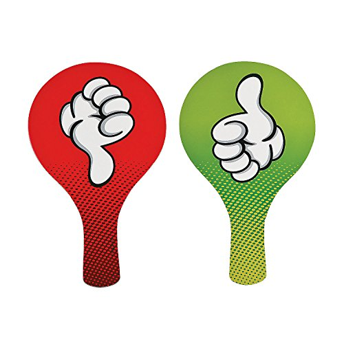 Thumbs Up/Thumbs Down Classroom Paddles]()