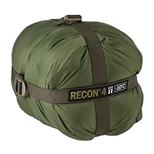 Elite Survival RECON-4 Sleeping Bag, Olive Drab