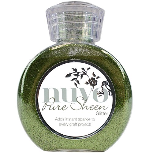 - Nuvo by Tonic Studios Nuvo Glitter Pure Sheen Olive Green,