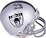Ray Guy Oakland Raiders Autographed Riddell 1963 Riddell Mini Helmet with HOF 14 Inscription - Fanatics Authentic Certified