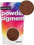 Hemway Cement Dye Powder Pigment Concrete Color Render Mortar Pointing Powdered Brick Toner Plaster (50g / 1.75oz, Metallic Bronze)