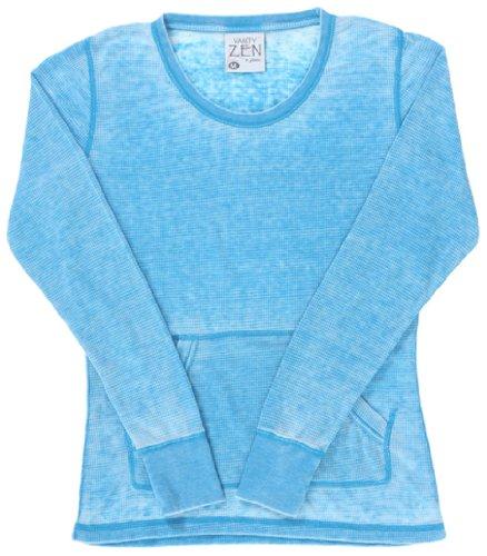 Sleeve Burnout Long Thermal (Ladies ZEN Thermal Long Sleeve Tee)
