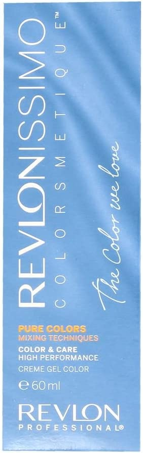 Revlon Revlonissimo Colorsmetique Pure Colors, Tinte para el Cabello 011 Gris - 60 ml