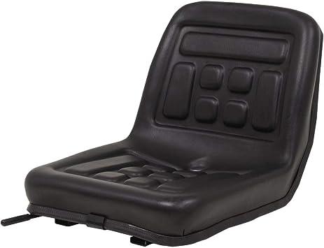 Traktorsitz Universal Schwarz Schleppersitz Staplersitz Baggersitz Wasserdicht