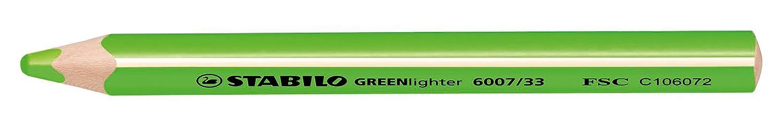 Stabilo 6007//33 GREEN Lighter Verde