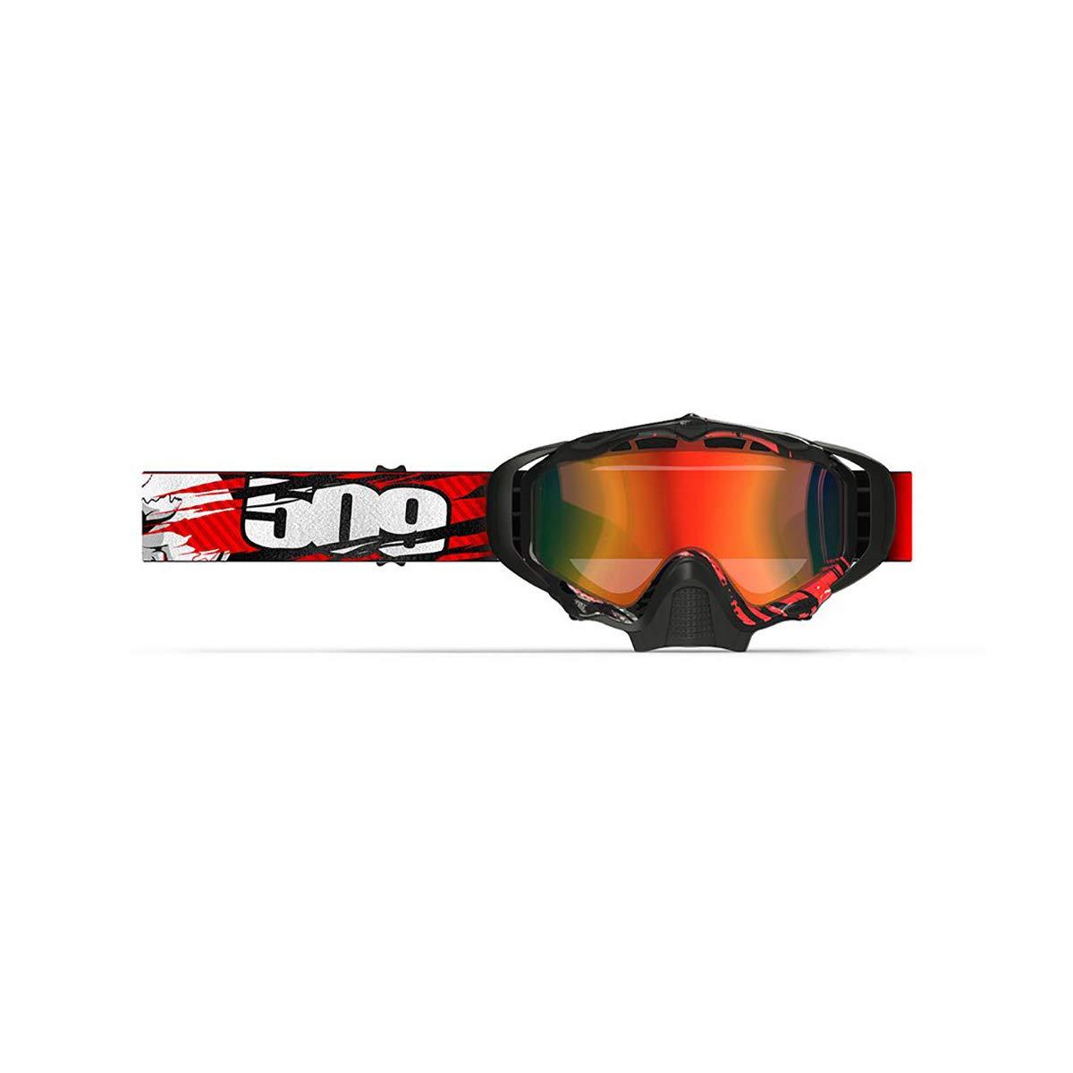 1ee303000b8e Amazon.com  509 Sinister X5 Snowmobile Goggle (Orange)  Automotive