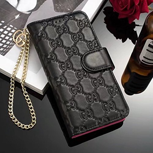 Gucci Iphone (iPhone X Case , New Elegant Luxury Genuine Leather Classic Style Cover Case For Apple iPhone X)