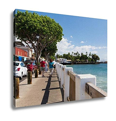 Ashley Canvas, USA Hawaii Maui Lahaina, Home Decoration Office, Ready to Hang, 20x25, AG6409282 by Ashley Canvas