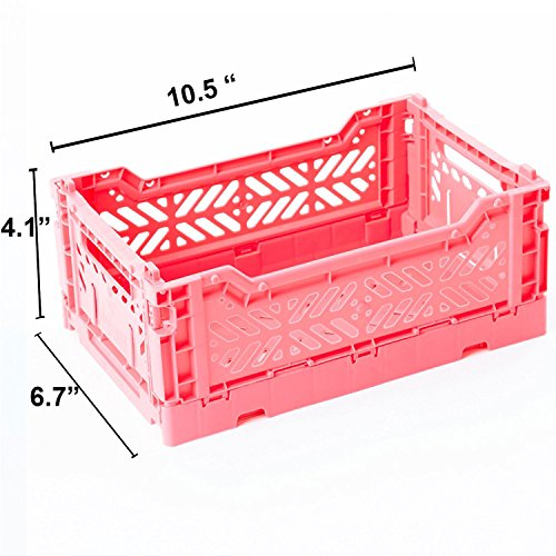Price comparison product image AY-KASA Collapsible Storage Bin Container Basket Tote ,  Folding Basket CRATE Container : Storage ,  Kitchen