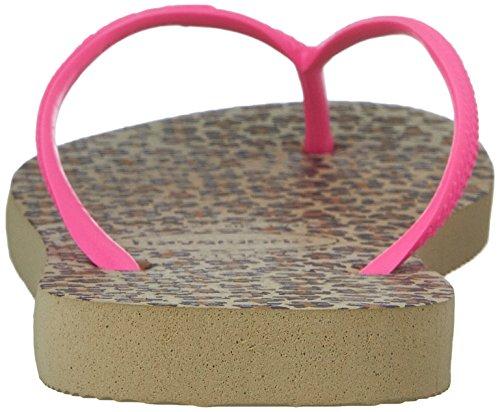 's Grey Animal Print Pink Flip Slim Women Flop Havaianas Sandalias Sand HRA7qA