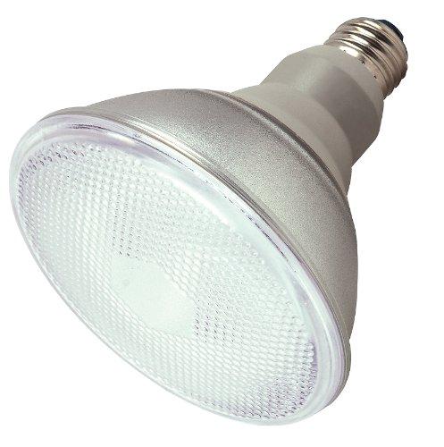 Satco 23PAR38/50 Compact Fluorescent Reflector, 23W E26 PAR38, Bulb [Pack of 6] ()