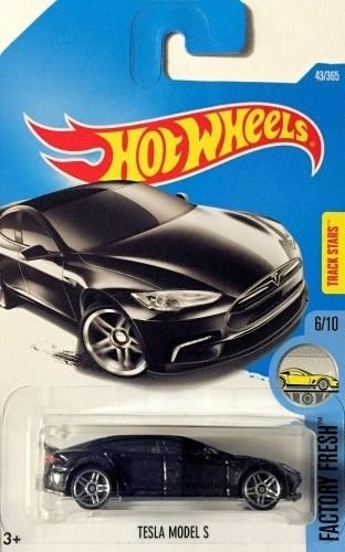 Hot Wheels 2017 Factory Fresh Tesla Model S 43/365, Black