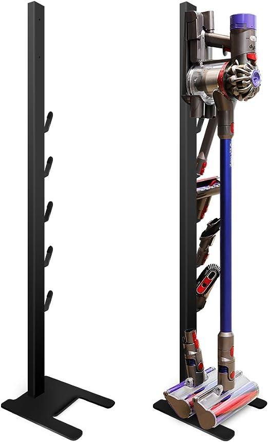 DoubleBlack Soporte para Aspirador Vertical Apto para Dyson V7/V8/V10/V11 y Accesorios Negro: Amazon.es: Hogar