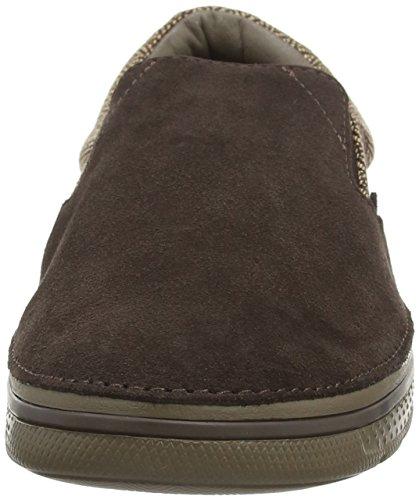 Sneaker Crocs Crcsnrlnhrrngbnslpnm Uomo walnut Basse Marrone espresso qqPH5R0