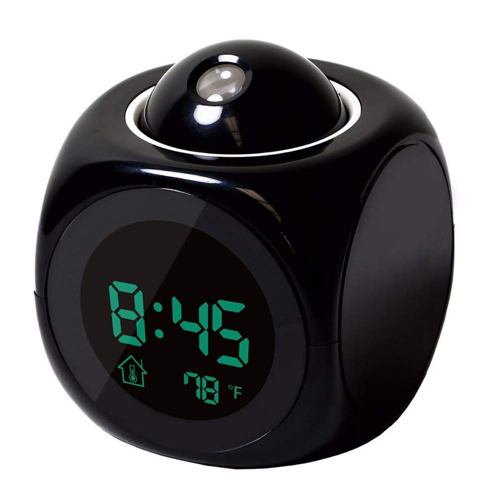 PEIQI HOME Despertador Proyector Reloj Proyector para ...
