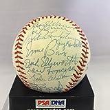 1970's Signed HOF Baseball Freddie Lindstrom Joe Cronin Lloyd Waner Ernie Banks - Autographed Baseballs