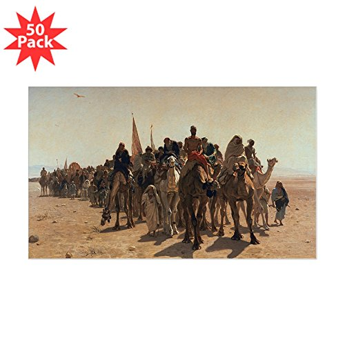 CafePress - A, 1861 @Oil On Canvasa - Sticker @Rectangle 50 Pk - Sticker (Rectangle 50 pk)