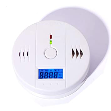 Carbon Monoxide Gas Detection,CO Detector Carbon Monoxide Alarm LCD Portable Security Gas CO Monitor