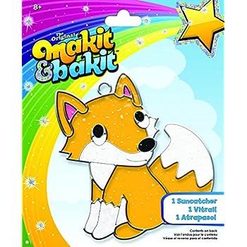 Multi-Colored Colorbok 73815 Makit /& Bakit Suncatcher Ice Cream