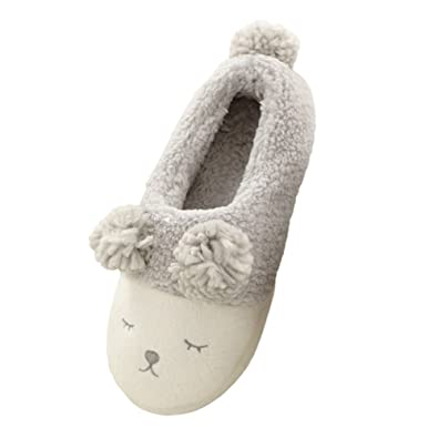 Perfect Bestfur Womenu0027s Cute Soft Sole Warm Plush House Slippers