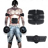 Abdominal Muscle Toner, Waist Trimmer Belt, ABS Stimulator Portable Ultimate Unisex Massage Toning Belt for Abdomen/Arm/Leg Training