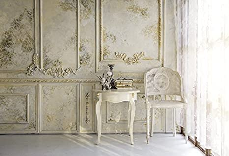 Baocicco Victorian Living Room in Morning Light Backdrop 9x6ft Photography  Background Vintage Classic Room Luxury Decorations White Curtain Armchair  ...