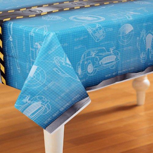[Secret Agent Spy Party Supplies - Plastic Table Cover] (Crime Scene Decorations)