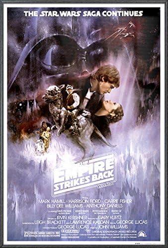 Guerra de las Galaxias: El Imperio Contraataca – La Saga Continúa, afiche de película: Amazon.es: Hogar