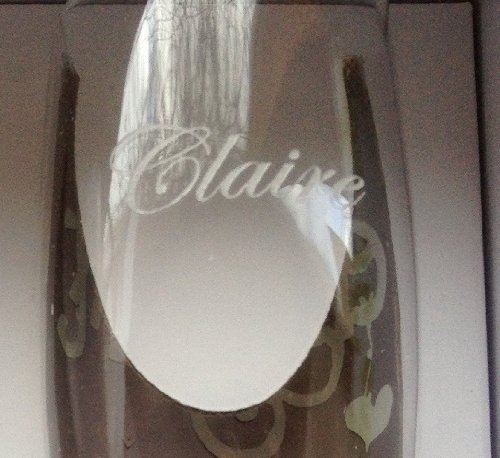 Personalised Boxer 18 18th Birthday Sherbert Fizz Champagne Flute in Gift Box Add Your Own Message