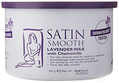 Satin Smooth Lavender Wax with Chamomile, 14 Ounce