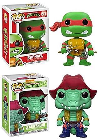 628c8b64bd4 Funko POP! Teenage Mutant Ninja Turtles  Raphael + Leatherhead (Specialty  Series) - Vinyl Figure Set NEW  Amazon.co.uk  Toys   Games