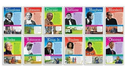 (Scholastic Teacher's Friend Notable African Americans Bulletin Board)