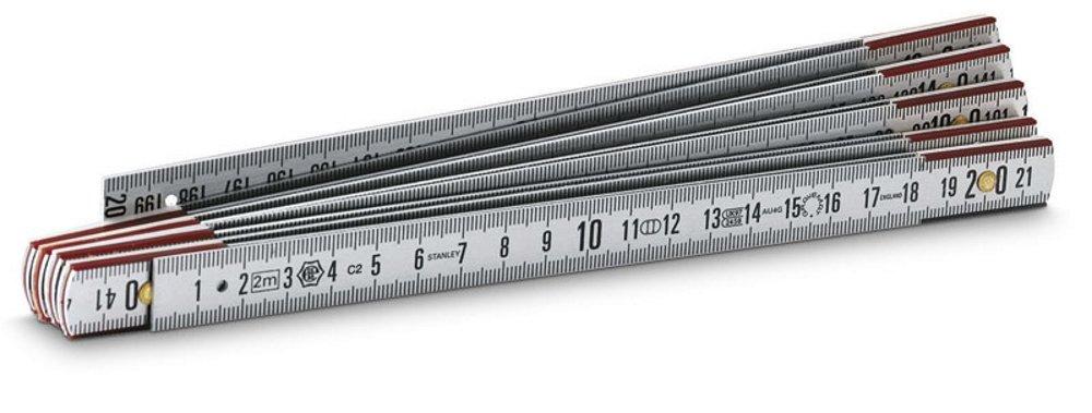 Stanley Rè gle en aluminium 1 m 0-35-311