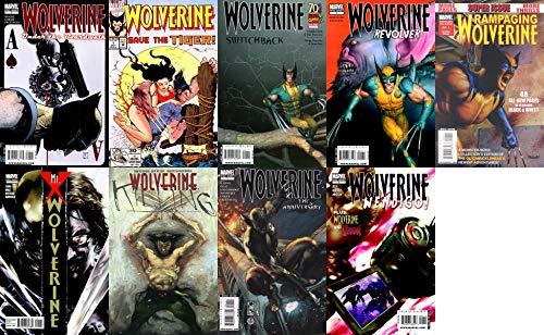 Wolverine: Under the Boardwalk (2010) Wolverine: Save the Tiger (1992) Wolverine: Switchback (2009) Wolverine: Revolver (2009) Rampaging Wolverine (2009) Wolverine: Mr. X (2010) Wolverine: Killing (1993) Wolverine: Anniversary (2009) & Wolverine: Wendigo (2010) Marvel Comics - 9 Comics