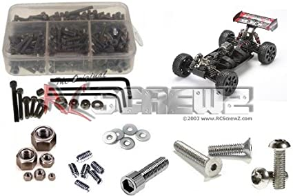 Screw Set for the Hpi Trophy Buggy /& Truggy Flux Stainless Steel /& Steel