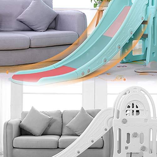 Freestanding Slides Slide Children's Indoor Slide Combination Baby Baby Slide Outdoor Children's Toys Kindergarten Long Small Toys Playground Children's Gifts (Color : Blue, Size : 185x98cm) by Freestanding Slides (Image #2)
