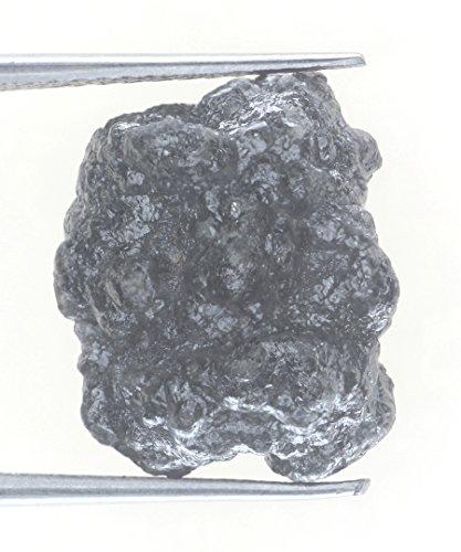 13.05 Ct Uncut Natural Blackish Color Superb Rough Diamond by Kakadiya Group