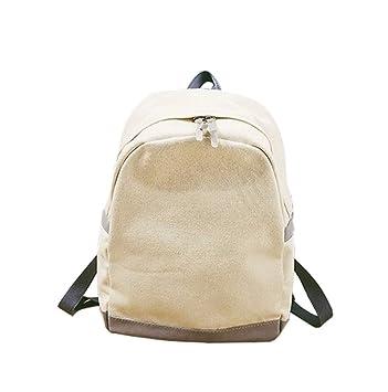 Moodn Simple Gran Capacidad Mochilas Escolares Juveniles Universitarias Diario Mochila Escolar Laptop Viajes Mochilas Fashion Color Sólido Bolsos Mochila ...