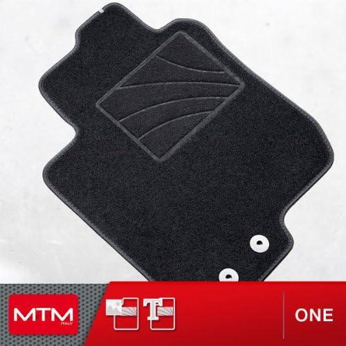 MTM Tapis de Sol FR-V de 2004 a 2010 sur Mesure en Velours Noir One fr762 cod