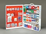 Radnor 64058000 Five-Shelf 100 Person Durable Metal Industrial First Aid Cabinet