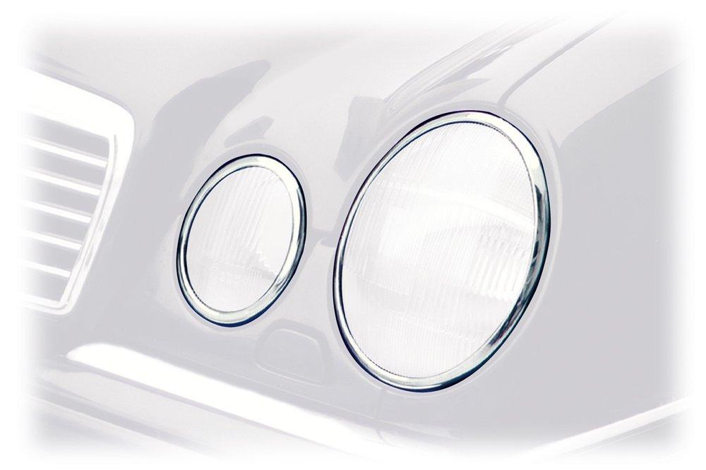 Schà ¤ tz 2101033 Chrom-Scheinwerferringe fà ¼ r alle  E-Klassen W210 Limousinen und T-Modelle Schätz