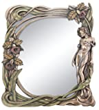 Art Nouveau Calla Lilly Mirror Display Decoration For Sale